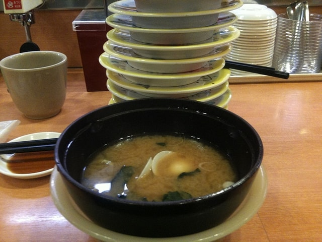miso soup in japan