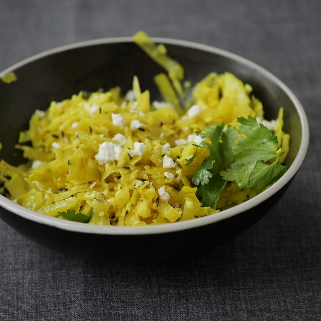 Cabbage Stir Fry Recipe with Coconut