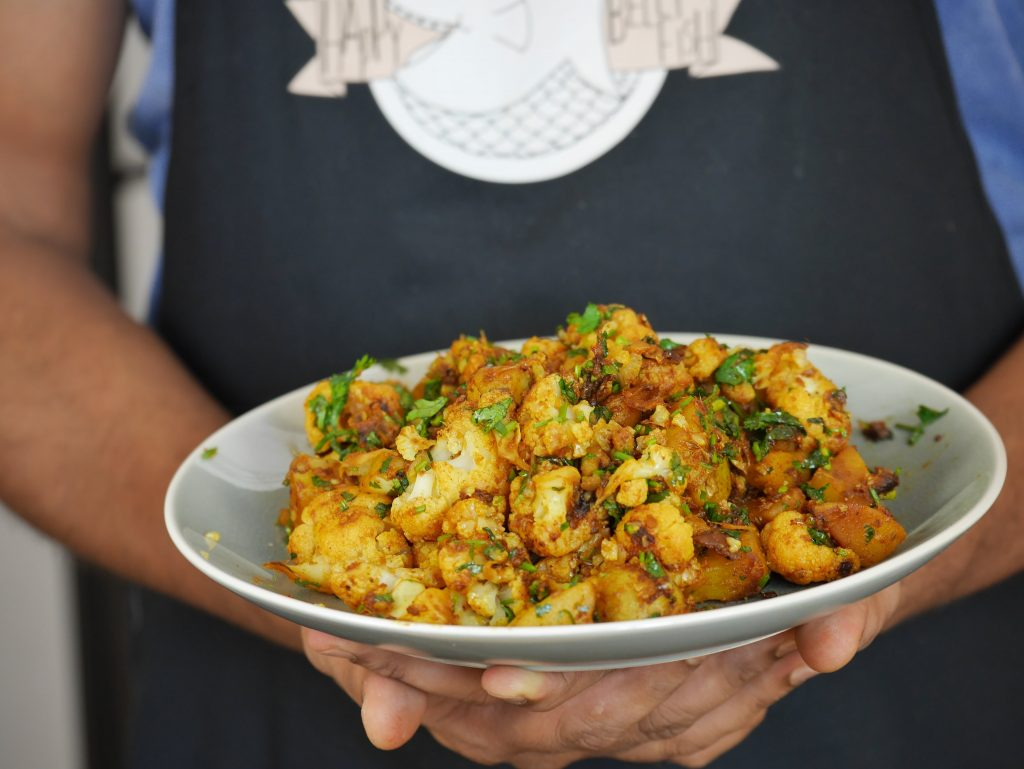 Cauliflower Curry with Garam Masala