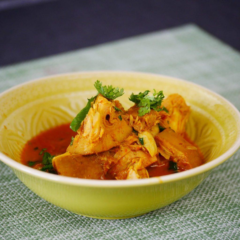 Jackfruit Curry Recipe (Vegan Meat Substitute, Kathal ki Sabzi)