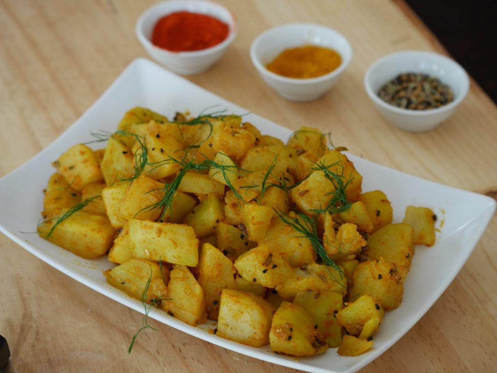 Kohlrabi Indian Recipe - How to Peel and Cook Kohlrabi