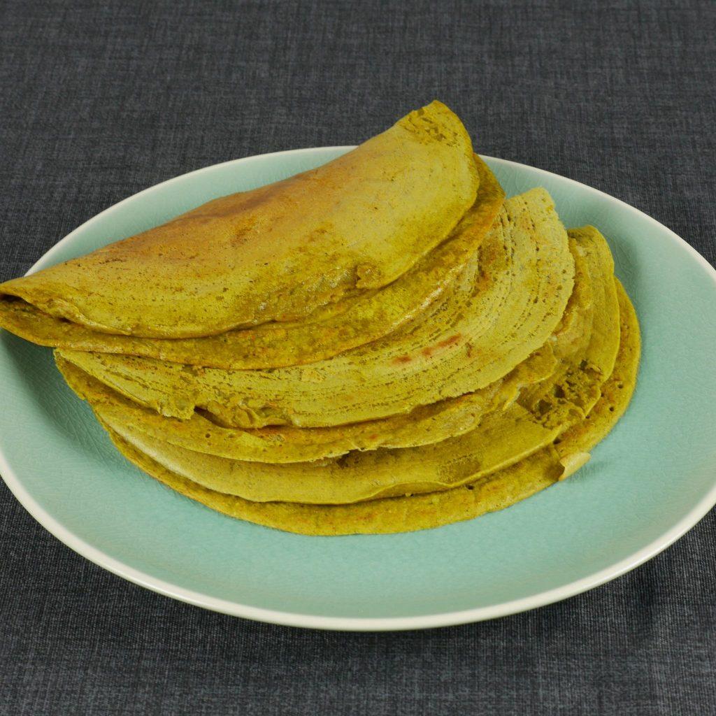 Protein Pancakes Recipe (Mung Bean Dosa)