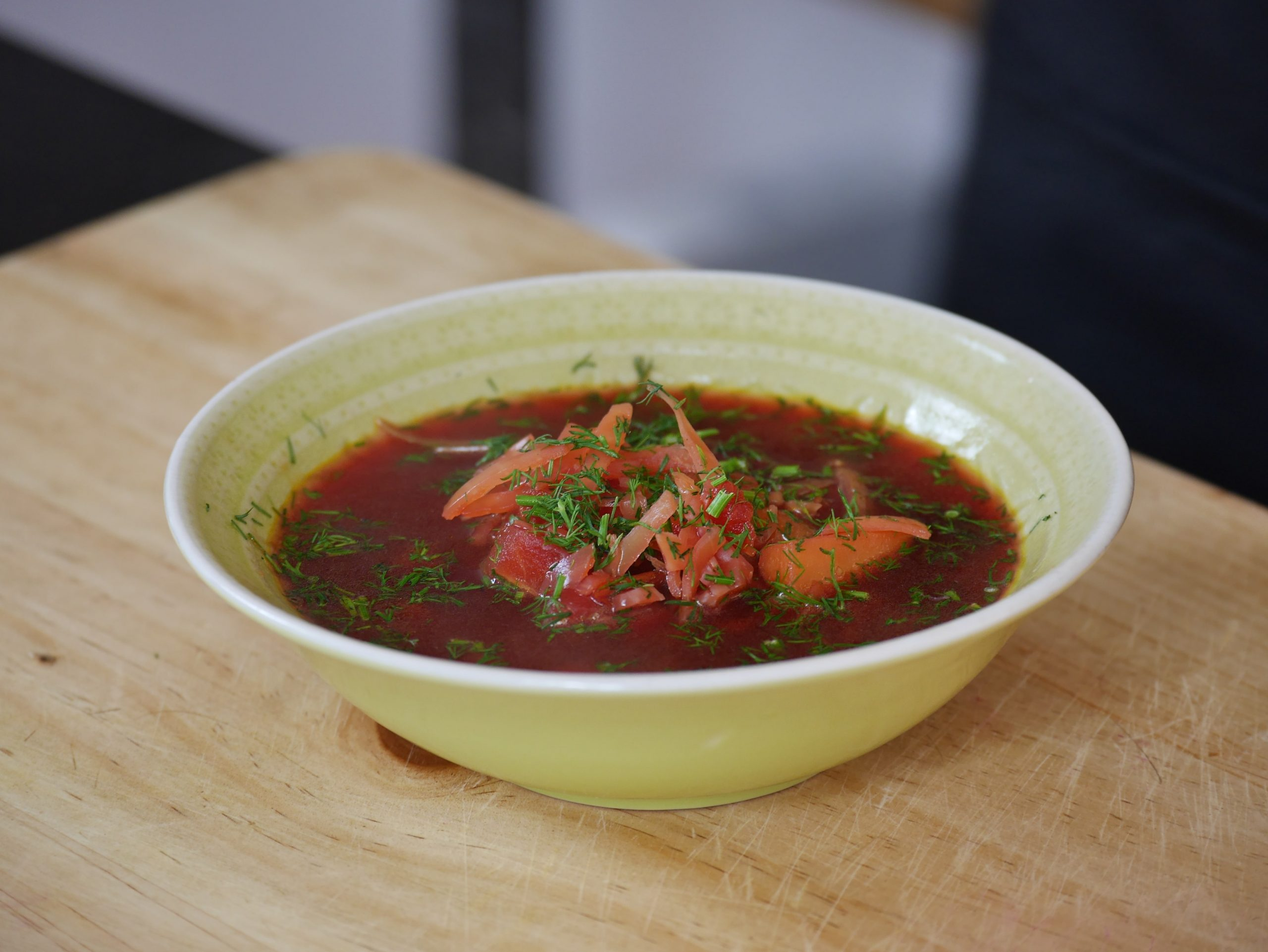 Vegetarian Borscht Russian Beetroot Soup Online Cooking Classes